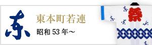 東本町若連(昭和53年~)