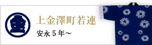 上金澤町若連(安永5年~)