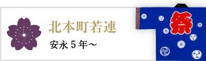 北本町若連(安永5年~)